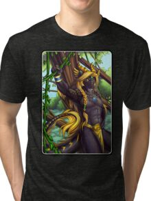 Forest Guardian Dragon Tri-blend T-Shirt