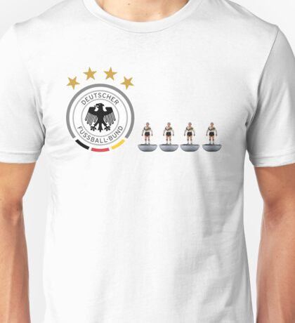 Germany '90 subbuteo design Unisex T-Shirt
