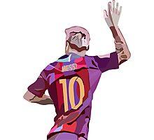 Lionel Messi Photographic Print