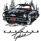 Karmann Ghia by bulldawgdude