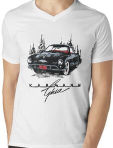 Karmann Ghia Mens V-Neck T-Shirt