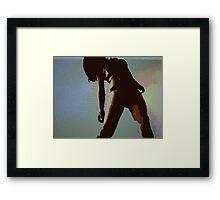 warsaw heart Framed Print