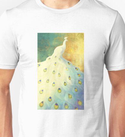 White Peacock Unisex T-Shirt