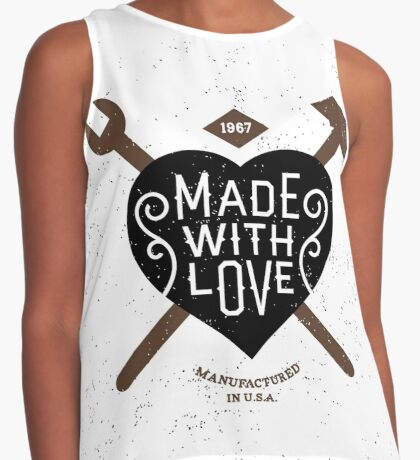 Made With Love Contrast Tank