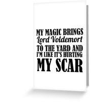 SCAR Greeting Card