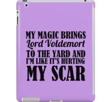 SCAR iPad Case/Skin