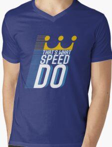 That's What Speed Do Mens V-Neck T-Shirt