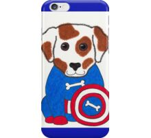 Puppy Dog America - Animal Superhero iPhone Case/Skin