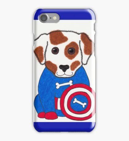 Puppy Dog America - Animal Superhero iPhone Case/Skin