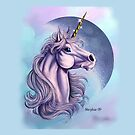 Lunar Unicorn  by cybercat
