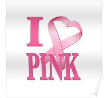 I Heart Pink Poster