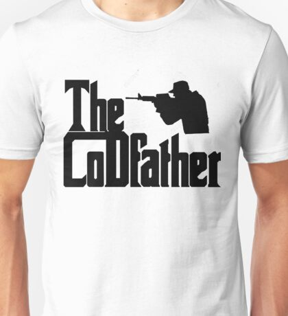 The CoDfather Gaming schwarz Unisex T-Shirt