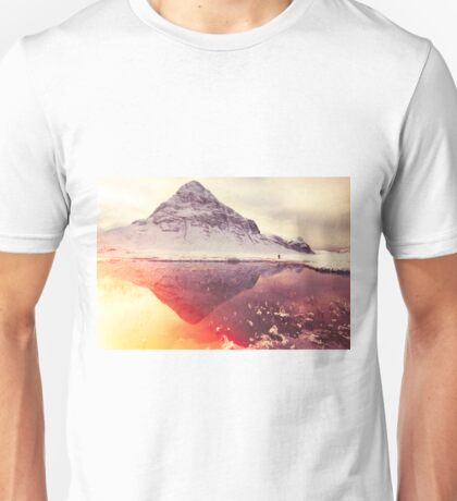 Scottish winter sunshine Unisex T-Shirt