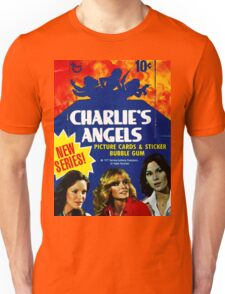Vintage Charlie's Angels Topps Trading Cards Box Unisex T-Shirt