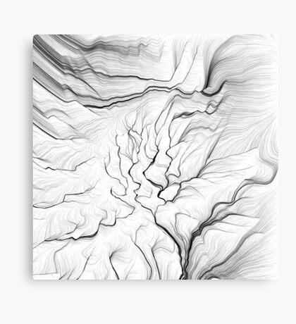 Linear Landscape 1 Canvas Print
