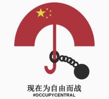 Umbrella Revolution  Kids Tee