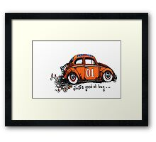 General.....Just a good ol bug Framed Print
