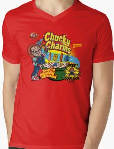Chucky Charms Mens V-Neck T-Shirt