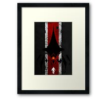 Mass effect poster + T-shirt Framed Print