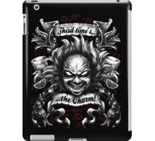 Third Time's the Charm iPad Case/Skin