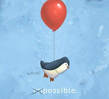 Penguin Possible by escapeadulthood