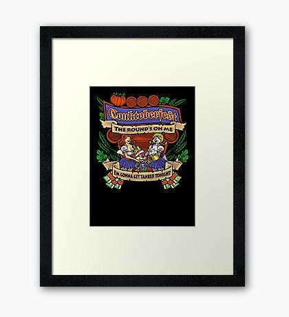 Conktoberfest! Framed Print