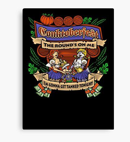 Conktoberfest! Canvas Print