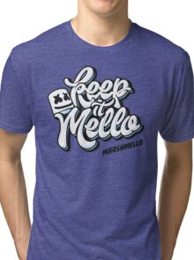 Marshmello keep it Mello Tri-blend T-Shirt