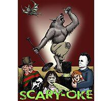 Scary-Oke Photographic Print