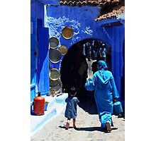 The Blue City II Photographic Print
