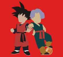 Minimalist Goten and Trunks  by mayumiku