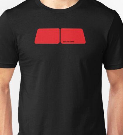 VW Bus Split Window Window Shapes Unisex T-Shirt