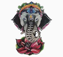 Elephant & Ganesha by Abstractionz