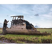Another Fleetwood wreck Photographic Print