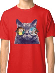 Rick and Morty Cat Classic T-Shirt