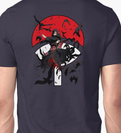 Dark Brother With His Crows Unisex T-Shirt