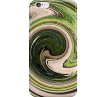 Green Swirl iPhone Case/Skin