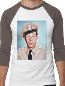Barney Fife in color Men's Baseball ¾ T-Shirt