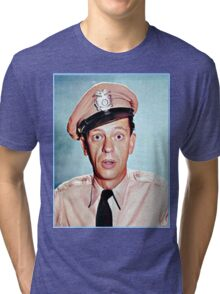 Barney Fife in color Tri-blend T-Shirt