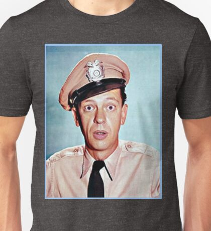 Barney Fife in color Unisex T-Shirt