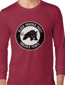 The Power of Black is Panther Long Sleeve T-Shirt