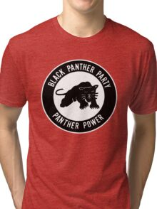 The Power of Black is Panther Tri-blend T-Shirt