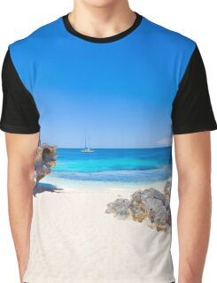 Rotto Paradise Clothing, Little Parakeet Bay, Rottnest Island Graphic T-Shirt
