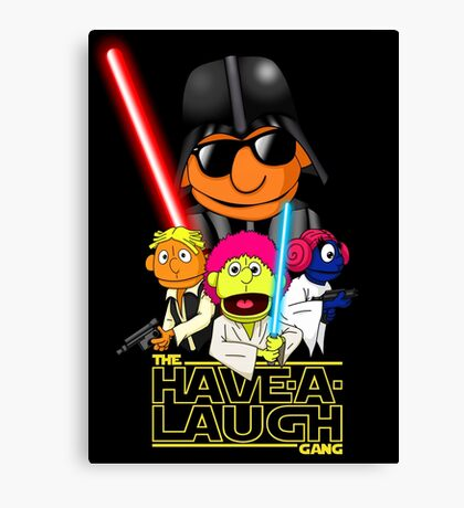 The Puppets Strike Back Canvas Print
