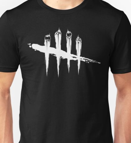Dead by daylight logo White Unisex T-Shirt