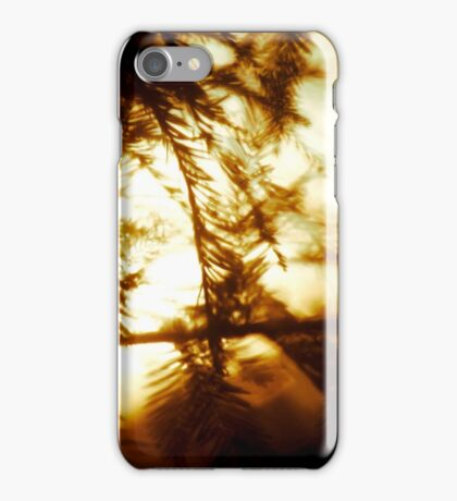 Through the Trees does Burn my Love  iPhone Case/Skin