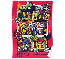 Bomber Battle - Player 03 Poster