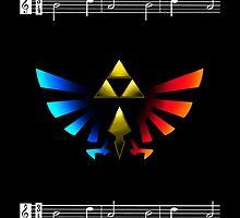 Legend of Zelda Emblem by Juan Ferrer