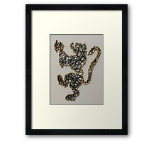 St. Olaf College Lion Framed Print