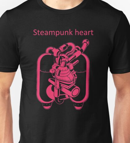 My Heart Have Steampunk Technology Unisex T-Shirt
